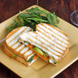 Roasted Sweet Potato Panini