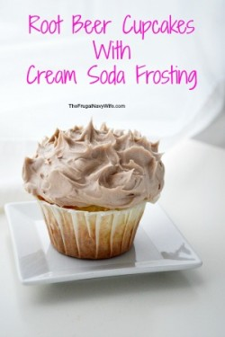 Root Beer Cupcakes With Cream Soda