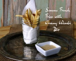 Sesame French Fries