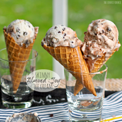 Skinny Almond Joy Ice Cream