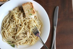 Spaghetti with Creamy Chicken Curry