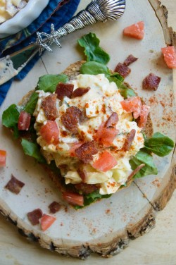 Spicy Bacon Egg Salad