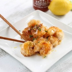 Spicy Honey Lemon Shrimp