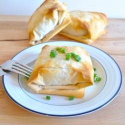 Spinach and Turkey Hand Pies