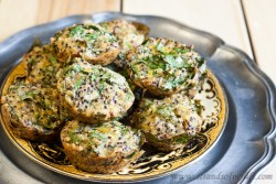 Spinach Quinoa Quiches – Low Fodmap