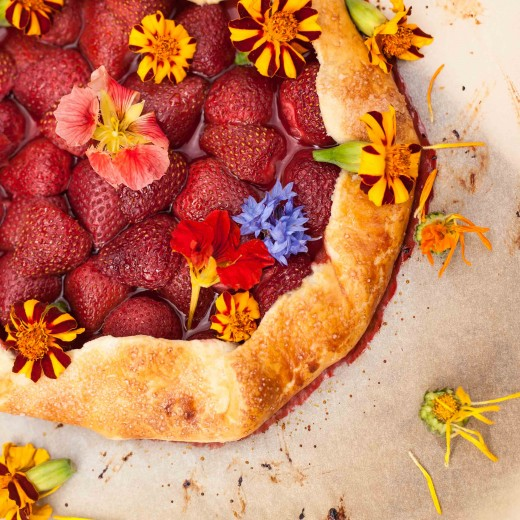 Strawberry Meadow Galette Recipe