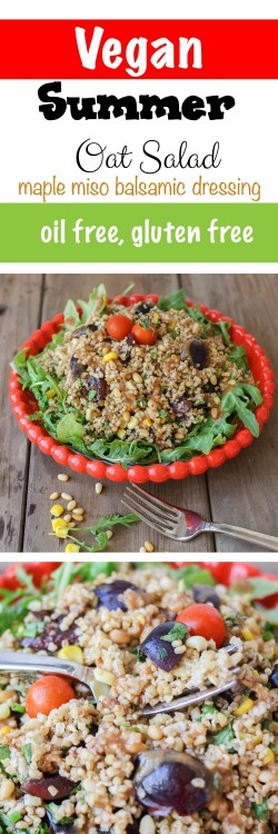 Summer Steel Cut Oat Salad