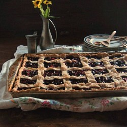 Sweet Cherry Slab Pie Recipe