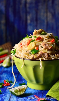 Thai Lemon Grass Chicken Noodles