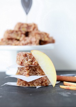 Vegan Apple Crisp No-Bakes