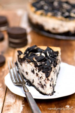 Vegan Loaded Oreo Cheesecake