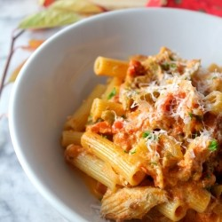 Weeknight Chicken Rigatoni Recipe