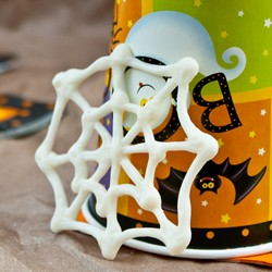 White Chocolate Spider Webs