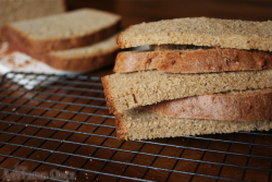 Whole Wheat Bread with Orange Zest and Coffee