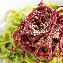 Zucchini Beet Noodles