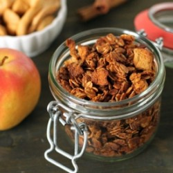 Apple Cinnamon Gluten Free Granola