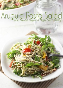 Arugula Pasta Salad With Poppy Seed