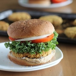 Baked Chickpea Burgers Recipe