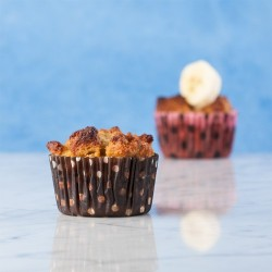Bananas Foster Bread Pudding Muffin