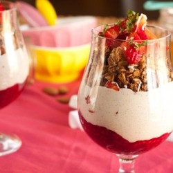 Berries 'n Cream Parfaits