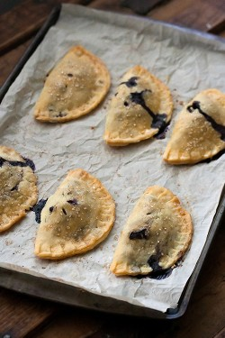 Blueberry Basil Hand Pies Recipe