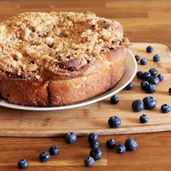 Blueberry Streusel Sweet Rolls