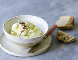 Broad Beans and Feta Cheese Dip Recipe