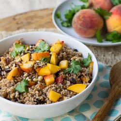Bulgur with Peaches Recipe
