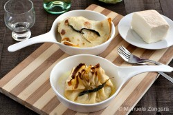 Cabbage and Taleggio Cheese Crespelle Recipe