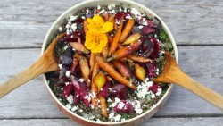 Carrot Beet Lentil Salad Recipe