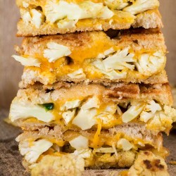 Cauliflower Jalapeno Grilled Cheese