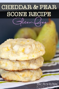 Cheddar Apple Gluten Free Scones