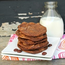 Chewy Chocolate Ginger-Molasses Cookies Recipe