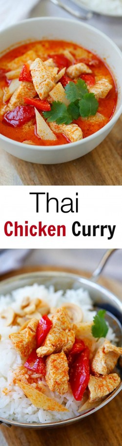 Chicken Curry Thai Style