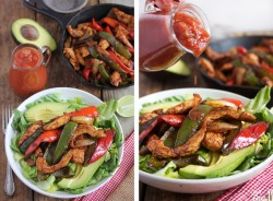 Chicken Fajita Salads