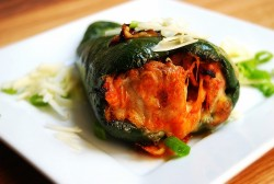 Chile Rellenos: Stuffed Poblanos