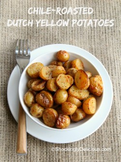 Chile-Roasted Dutch Yellow Potatoes