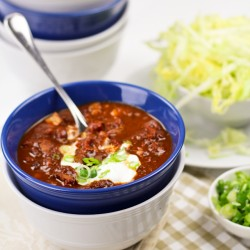 Chili con Carne with Chicken