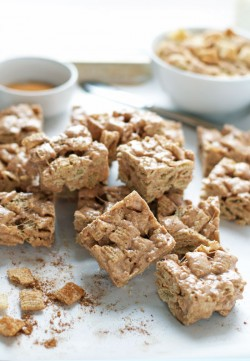 Churro Brown Butter Crispy Treats