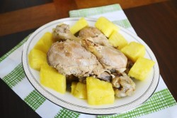 Coconut Rum Braised Chicken