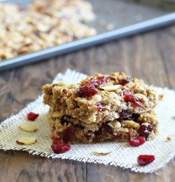 Cranberry Tofu Snack Bar