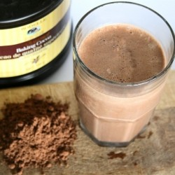 Dark Chocolate Protein Shake