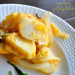 Easy Grilled Potato Casserole