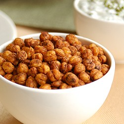 Fajita Roasted Chickpeas