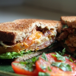 Fried Green BLT for One