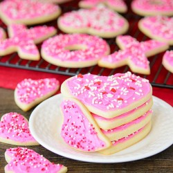 Frosted Cream Cheese Cookies
