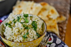 Garlic Cilantro Lime Rice