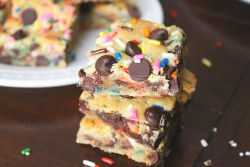 GF Chocolate Chip Sugar Cookie Bars