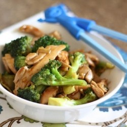 Ginger Chicken and Broccoli Stirfry