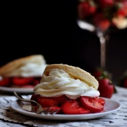 Goat Cheese Strawberry Shortcakes